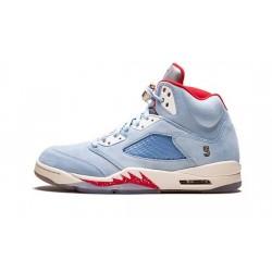 "Mens Air Jordan 5 Ice Blue ""Ice Blue/University Red-Sail-M"""