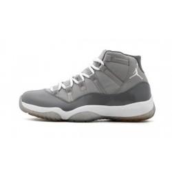 """Mens Air Jordan 11 Cool Grey """"Medium Grey/White-Cool Grey"""""""