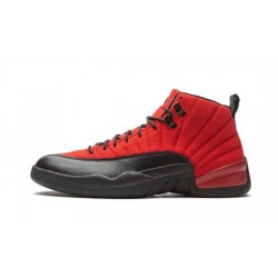 "Mens Air Jordan 12 Reverse Flu Game ""Varsity Red/Black"""