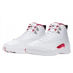 Air Jordan 12 Twist White Red