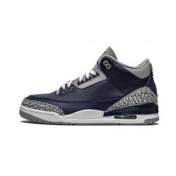 """Mens Air Jordan 3 Midnight Navy """"Midnight Navy/Cement Grey-Whit"""""""