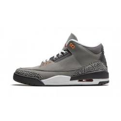 Mens Air Jordan 3 Cool Grey
