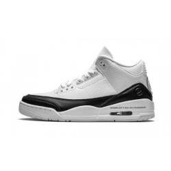 Mens Air Jordan 3 Fragment White/Black-White