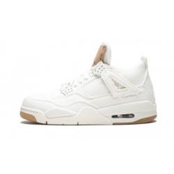 """Mens Jordan 4 X Levi S White White/White-White"""""""