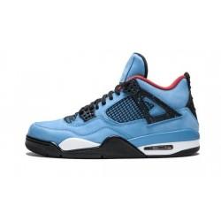 Mens Jordan 4 Cactus Jack University Blue/Varsity Red/Bl