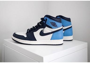 Air Jordans 1 High OG Obsidian